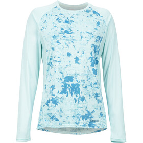 Marmot Crystal Camiseta de manga larga Mujer, blue tint mind game